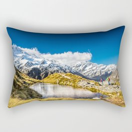 New Zealand Mount Cook Aoraki Rectangular Pillow