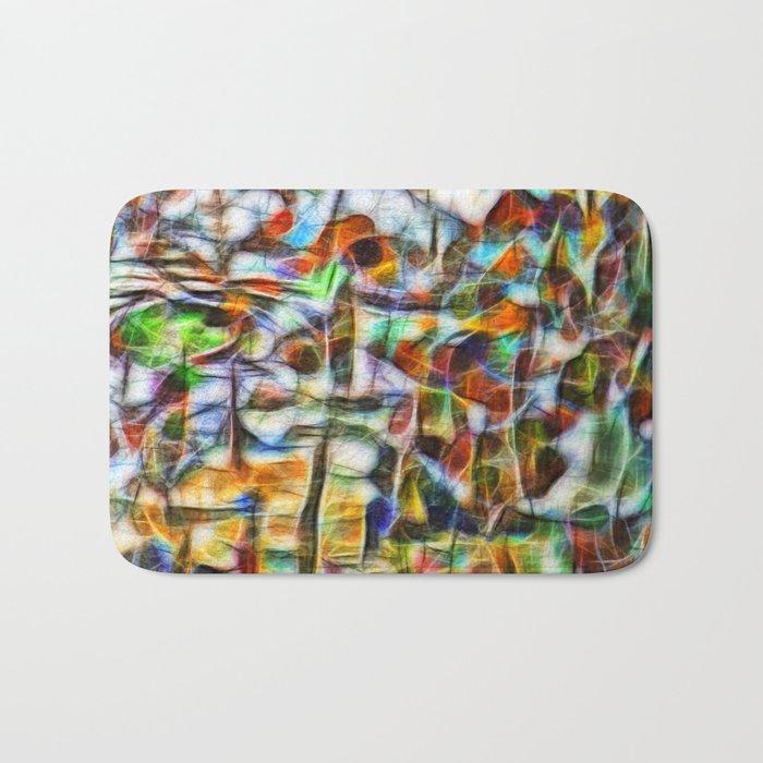 Beautiful abstract bark texture Bath Mat