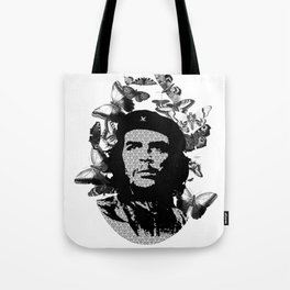 Birthday cake and candles for a corny hero. Tote Bag