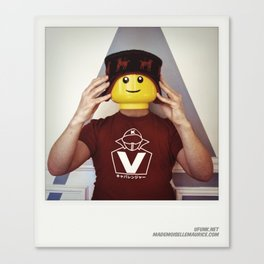 Minifig me ! – Everyone has a LEGO piece inside - 8 Canvas Print