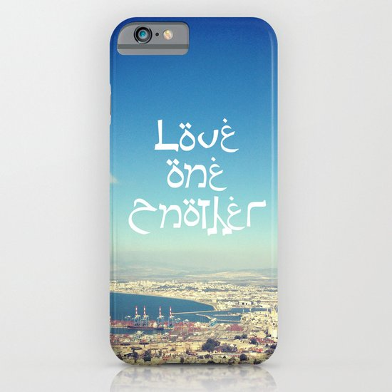 Love One Another iPhone & iPod Case