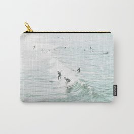 Surfer Waves Costal Ocean Carry-All Pouch
