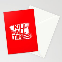 Kill All Tires v1 HQvector Stationery Cards