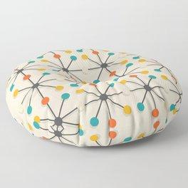 Midcentury Pattern 02 Floor Pillow
