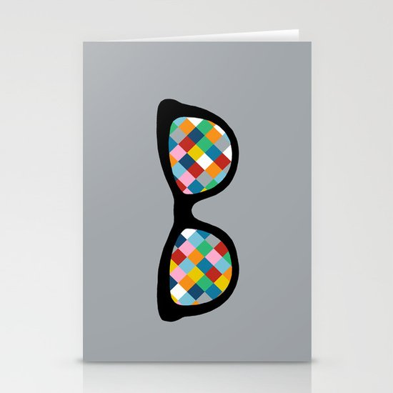 Diamond Eyes Stationery Cards