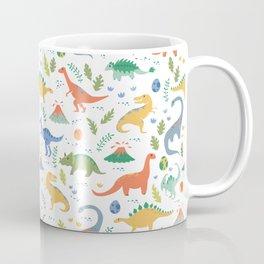 Dinos + Volcanoes Coffee Mug
