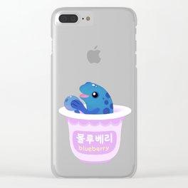Blueberry poison yogurt 2 Clear iPhone Case