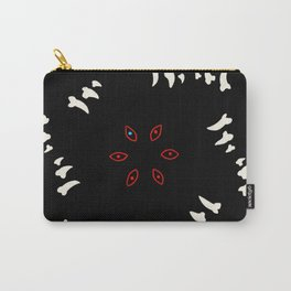 eyes and teeth 2 Carry-All Pouch