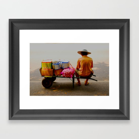 seljak Framed Art Print