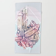 Crystalline II Beach Towel