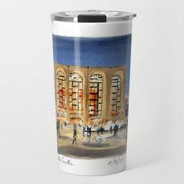 Lincoln Center at Night Travel Mug