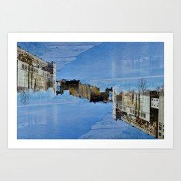 River Right Through Art Print