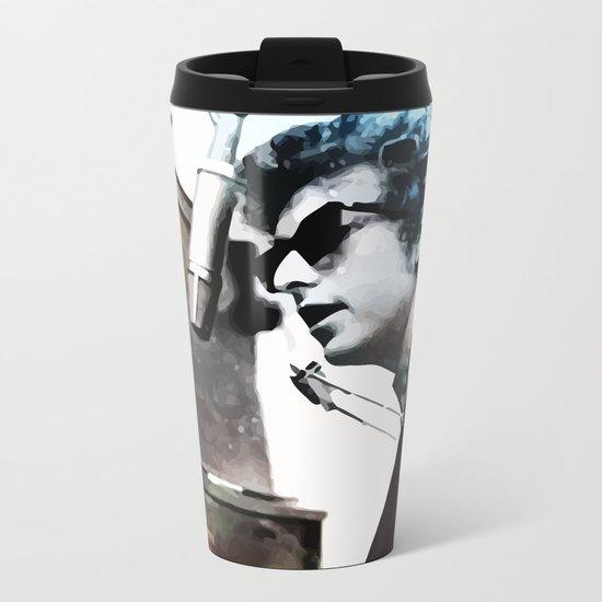 Bob Dylan Metal Travel Mug