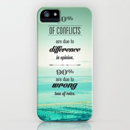 CONFLICTS iPhone Case