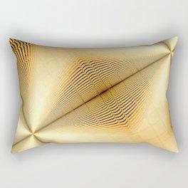 Diagonal Resonance Rectangular Pillow
