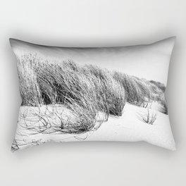 Sea and Sand, Kellogg Beach Dunes, Crescent City, Del Norte, California Rectangular Pillow