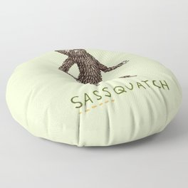 Sassquatch Floor Pillow