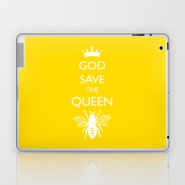 God Save the Queen (Bee) Laptop & iPad Skin