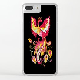 Firebird - Fantasy Creature Clear iPhone Case