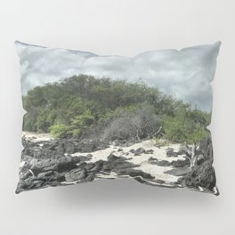sand and rocks of the Galapagos Pillow Sham