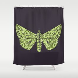 The envy of the moth - Geometric design Shower Curtain