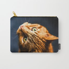 Ginger kitty cat Carry-All Pouch