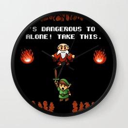 It's Dangerous to go alone! Wall Clock