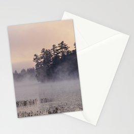 misty morn Stationery Cards