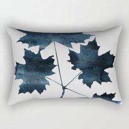 Watercolor Leaves 8 Rectangular Pillow