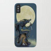 werewolf iPhone & iPod Cases featuring Werewolf! by drubskin