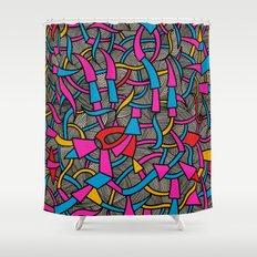 - parquet - Shower Curtain