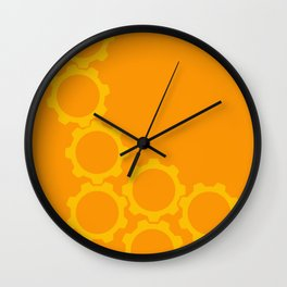 2013:  The Year I went in Circles (vertical) Wall Clock