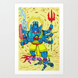 Trailokyavijaya Art Print