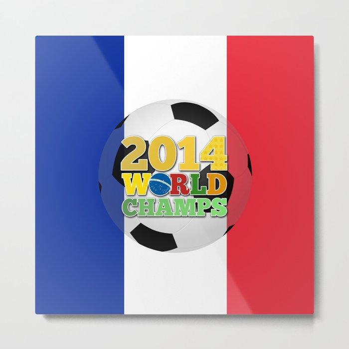 2014 World Champs Ball - France Metal Print