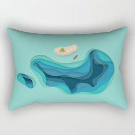 Breathe Deep Rectangular Pillow