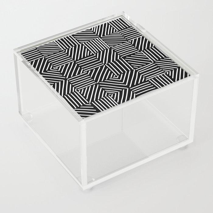 Sketching Abstraction Acrylic Box