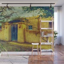 Adobe house La Mesilla New Mexico Wall Mural