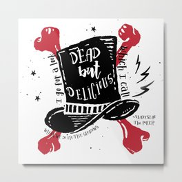 Dead But Delicious, What We Do in the Shadows Metal Print