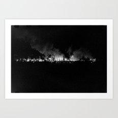 Vintage Pollution 2 Art Print