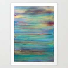Abstract Painting 4 Art Print