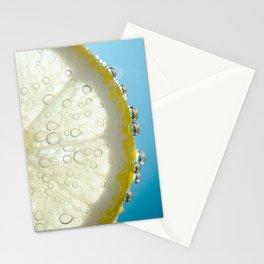 Bubbly Lemon 2 Stationery Cards
