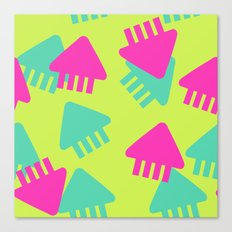 Spl@toon Fabric Canvas Print