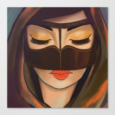 Burqa Beauty Canvas Print