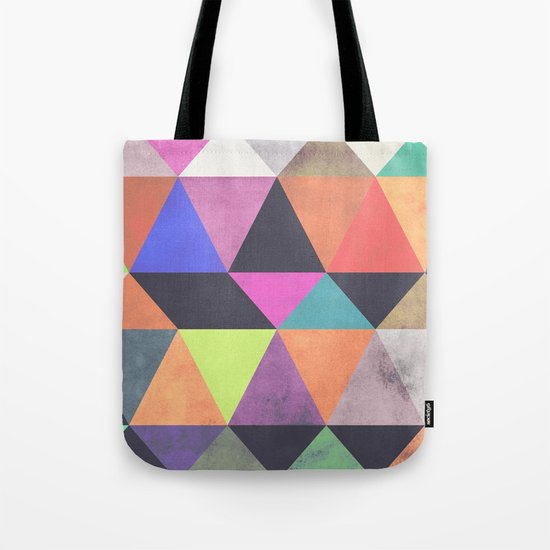 colour + pattern 12 Tote Bag