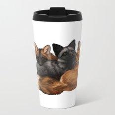 Fox Trio Metal Travel Mug