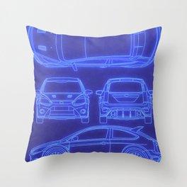 Focus RS MK2 Throw Pillow