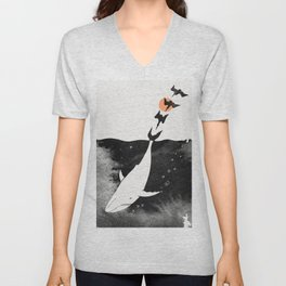 Dive into Happiness Unisex V-Neck