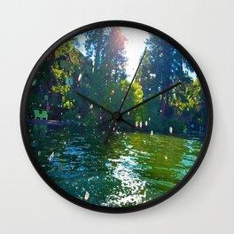Droplets of Joy Wall Clock