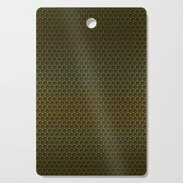 Metallic Gold Graphite Honeycomb Carbon Fiber Cutting Board