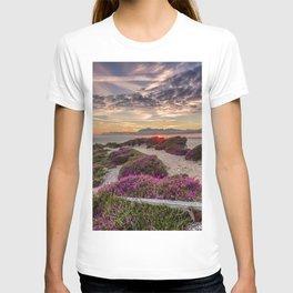 Headon Hill Sunset Isle Of Wight T-shirt